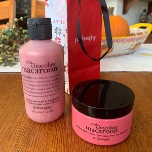 PHILOSOPHY Pink Chocolate Macaroon Gift Set!!